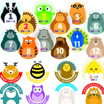 Stickers for Baby Clothes Milestones Monthly Photo Prop Boy Girl Shower ... - $17.06