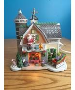 Lemax Carole Towne - Jackie's Tree Farm w/ Box & Cord (2007) READ  - $29.65