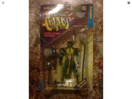 BRAND NEW-1996-MCFARLANE'S TOTAL CHAOS-SERIES 1-THE CONQUEROR-ACTION FIGURE - $10.99