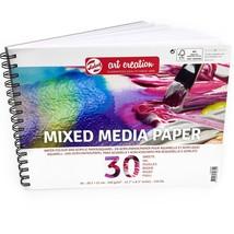 Royal Talens – Art Creation A4 Mixed Media Paper Sketchbook – 30 Sheets ... - $8.84