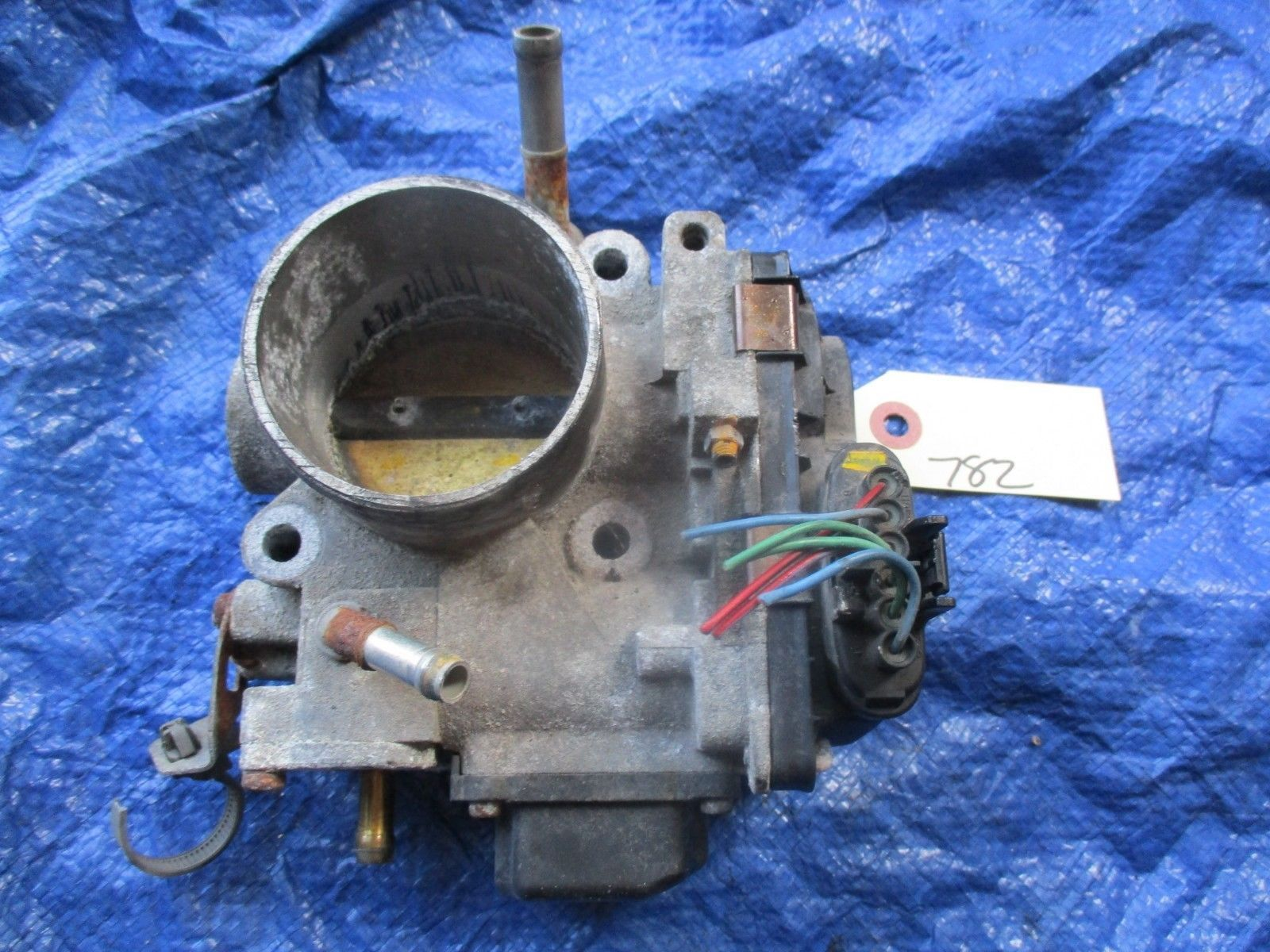2004 Acura TSX K24A2 throttle body assembly OEM engine motor K24A base 782 GMB1A