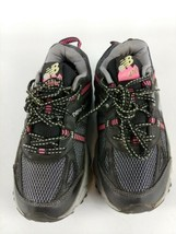 Womens New Balance 410 v4 Running Shoes Sneakers, Sz 7 Pink and Black - $24.82