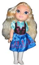 Disney Frozen Elsa German Tulip German Dress Princess Doll Tollytots Vin... - $14.84