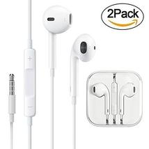 [2 pack] 3.5mm Aux Earphones / Headphones / Earbuds / Headsets with Remo... - $16.99