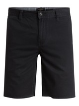 """$40 Quiksilver Men's Everyday 21"""" Chino Shorts, Black, Size 31 - $29.69"""