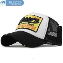 Casual Baseball Cap Hip Hop Caps Embroidery Mesh Snapback Hats Flexfit Trucker - $10.30