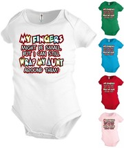 Aunt Funny Baby Bodysuit Infant toddler Creeper Shower party Gift KP315 - $12.99