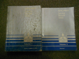 1988 MITSUBISHI Galant Service Repair Shop Manual FACTORY OEM BOOK 88 2 ... - $23.72