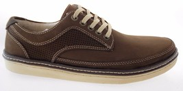 BASS TOM MEN'S BROWN LEATHER OXFORD CASUAL SHOES #2687-200 - $79.99