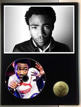 Childish Gambino Limited Edition Picture Disc CD Rare Collectible Music Display - $56.95