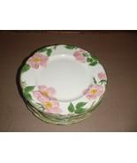 Set of 10 Vintage Franciscan Desert Rose Dinner Plates USA - $65.44