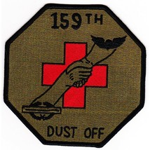US Army 159th Medical Detachment Air Ambulance Helicopter Patch Dustoff OD - $11.87