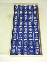 VTG - STRATEGO BY MILTON BRADLEY 1962 / 40 BLUE PLAYING PIECES / GREAT C... - $17.94