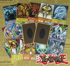 20pcs Yu-Gi-Oh! Anime Style Cards Dark Magician Exodia Obelisk Slifer Ra... - $18.00
