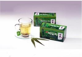 Organic Bamboo Leaf Tea Natural Beauty 25 Tea Bags Healhty - $14.80