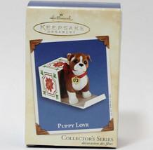 "Hallmark Keepsake 2003 ""Puppy Love"" Ornament - $8.56"