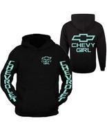 Mint Chevy Girl Hoodie Sweatshirt Front & Back - $39.99