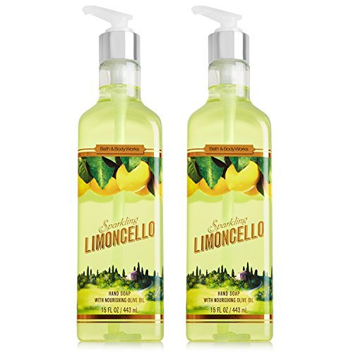 Bath & Body Works Limoncello Luxury Hand Soap 15.5 oz (2)
