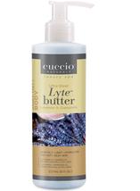 Cuccio Lytes Ultra Sheer Body Butter, Lavender & Chamomile, 8 oz