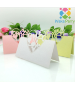WakaParty® 20 pcs/set Laser Cut Crazy in Love Table Place Name Cards Dec... - $4.90+