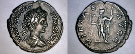 198-217AD Roman Imperial Caracalla AR Denarius Coin - RIC-149 RSC-665a - $114.99