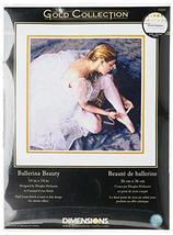 Dimensions Gold Collection Counted Cross Stitch Kit, Beautiful Ballerina, 18 Cou - $29.99