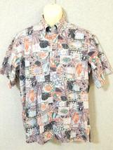 Hilo Hattie PULLOVER The Hawaiian Original Size L Mens Shirt Seashells a... - $14.95