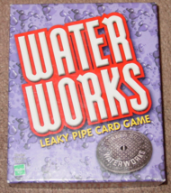 Waterworks Leaky Pipe Card Game 2002 Winning Moves Complete Excellent - $15.00