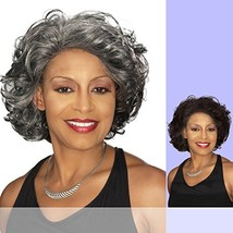 DARLENE Foxy Silver - Synthetic Lace Front Wig in 3T44