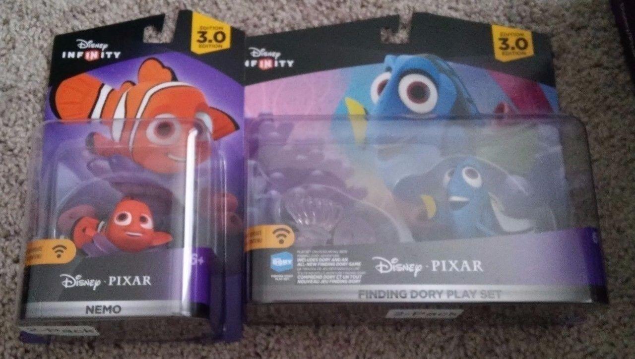 Finding Dory & Nemo Disney Infinity 3.0  Pixar