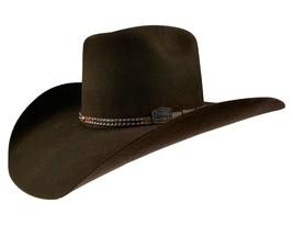 Men's Western Cowboy Hat El Señor de los Cielos 50X Color Brown Horma Co... - €73,77 EUR