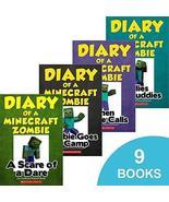 Diary of a Minecraft Zombie Book Vol 1-9 [Paperback] Herobrine Books - $119.99