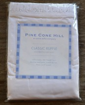Pine Cone Hill Classic Ruffle Standard Pillowcases - White - $48.00