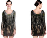 Cradle of filth long sleeve bodycon dress thumb155 crop