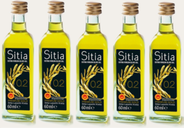 Sitia PREMIUM GOLD Extra Virgin Olive Oil PDO CRETE Acidity 0.2% 5 x 60ml - $63.80