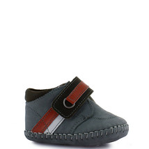 Boy's Rilo gray baby walker crib shoe  - $28.78+