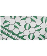 World Cup Nigeria Soccer Ball All Over Beach Towel - $26.95