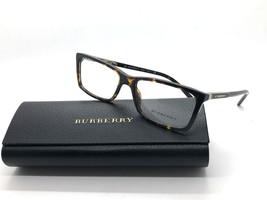 Authentic Burberry B 2139 3002 Dark Havana Eyeglasses Frame DEMO 7090 - $97.76