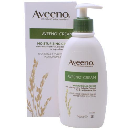 Aveeno Moisturising Cream for Dry & Sensitive Skin 300ml x 5