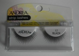 Andrea's Strip Lashes Fashion Eye Lash Style 17 Black (Pack of 6) - $21.98