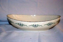 "Lenox 1982 Musette Oval Serving Bowl 9 1/2"" #F-507 - $41.57"