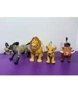 Lot of 4 Disney Lion King Action Figures Mattel 1994 Banzai Hyena Mufasa... - $39.59