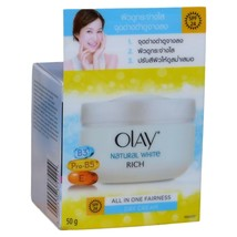 Olay Natural White Day Cream Skin Whitening with Sunscreen SPF 24 50 grams - $17.49