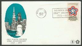 Old North Church 250th Anniversary **ANY 4=FREE SHIPPING** - $2.00