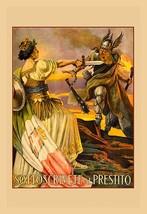 Sottoscrivete al Prestito by Giovanni Capranesi - Art Print - $19.99+
