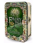 New TIN Fairy Tale Lenormand Tarot Deck Cards 120pg guide Lisa Hunt Arwe... - $21.98