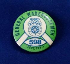 Vintage General Warehousemen Union 598 Septembe... - $7.88