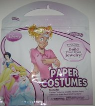 DISNEY PRINCESS PAPER COSTUMES FOR GIRL (BUILD YOUR OWN) - $2.95