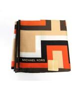 "MICHAEL KORS Handkerchief 19.5"" x 19.5"" Small Scarf Cotton print - $25.02"