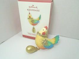 Hallmark Keepsake 2013 Three French Hens #3 In The Series - $23.36